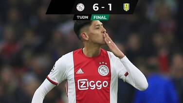 Ajax, con Edson Álvarez como titular, golea al RKC Waalwijk