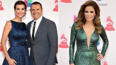 ¿Cómo se sintieron? Karla Martínez y Alan Tacher se lucieron en la alfombra de Latin Grammy