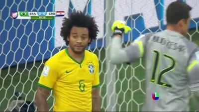 Mala Suerte: Autogol de Marcelo en el Brasil contra Croacia