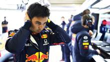 ¡Impresionado! 'Checo' Pérez y su nuevo auto en Red Bull