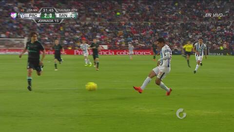 Honda puso medio gol y Aguirre lo definió