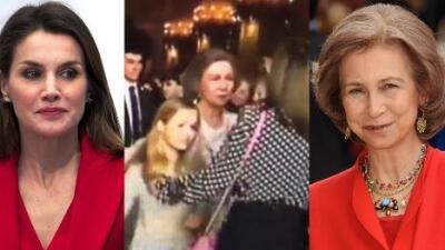 """La reina de España está """"desolada"""": el drama por el manotazo viral la convierte en un """"blanco fácil"""""""