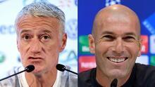Deschamps bendice a Zidane para tomar a Francia