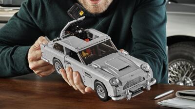 Lego hace realidad, con todo y 'asiento eyector', el Aston Martin DB5 de James Bond
