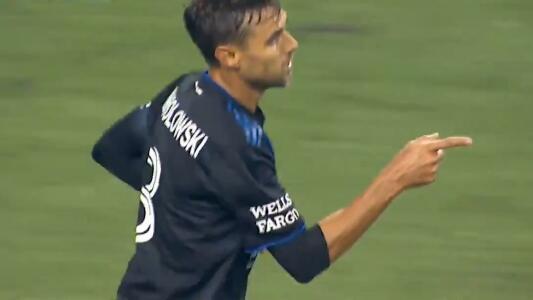 El gol de la honra… Wondo puso el 7-1 para los Earthquakes