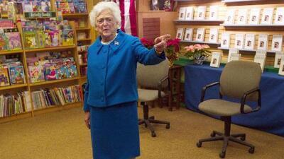 Extreman seguridad en Houston para el funeral de la ex primera dama Barbara Bush
