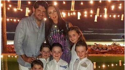 A pesar de que dijo que su ex se oponía, Inés Gómez Mont sí pudo sacar a sus hijos de México