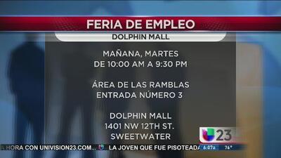 Feria de empleo de Dolphin Mall