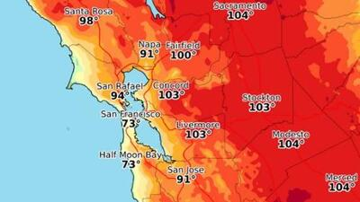 Se pronostica un caluroso fin de semana en el Área de la Bahía