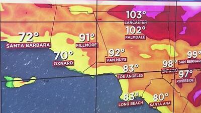 Se pronostica calor intenso para la noche de este lunes en California