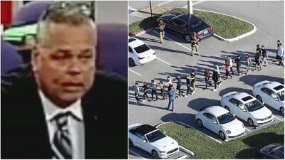 """""""No soy un cobarde"""": Policía de la secundaria en Parkland se defiende a través de su abogado"""