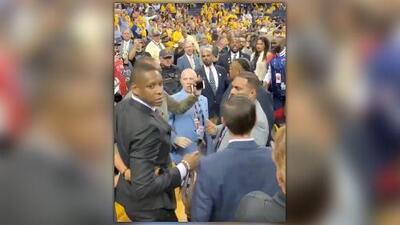 Sheriff busca cargos de agresión contra presidente de los Raptors tras pleito en la Final de la NBA