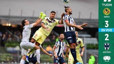 EN VIVO | ¡Partidazo en el Azteca Nicolás! Con un doblete de Nicolás Castillo, América ya le gana a Monterrey