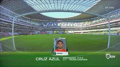 Cruz Azul vs. Santos Laguna: así formarán los dos equipos