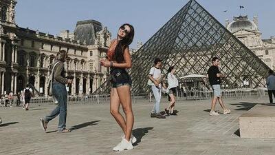 Con la gran inseguridad que se vive en México, Michelle Renaud agradece poder caminar segura por las calles de París