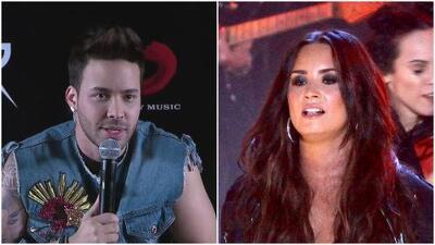 Prince Royce se solidariza con Demi Lovato y habla de lo difícil que es ser famoso