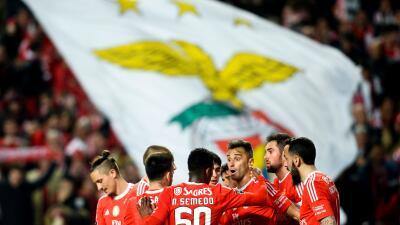 Benfica 4-1 Tondela: Benfica golea y se mantiene líder en Portugal