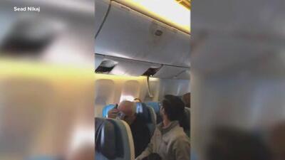 """""""Pensé que no sobreviviría"""": aterrizaje de emergencia en NY y decenas de heridos por unas fuertes turbulencias"""