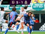Mexico cae por goleada ante Japón pero vuelve a marcar después de tres juegos sin lograrlo