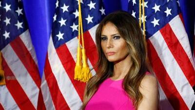 Melania Trump's marriage license application reveals contradiction