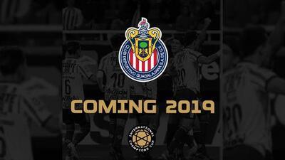 ¡Se internacionaliza! Chivas jugará International Champions Cup