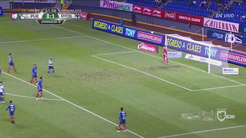 Chumacero busca el gol, pero no le pone ni tantita dirección para lograrlo