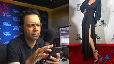 """""""Mira qué chica tan guapa"""": Omar estaba viendo fotos en Instagram y se llevó una gran sorpresa"""