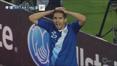 Guatemala se quedó a nada de hacer un gol de fantasía