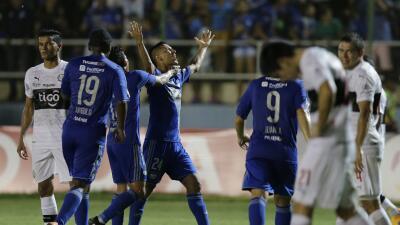 Emelec de último minuto rescata un punto como local ante Olimpia en Libertadores