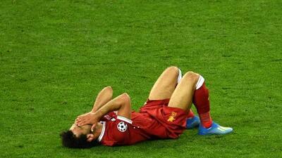 Mohamed Salah se lesionó y Twitter 'murió'