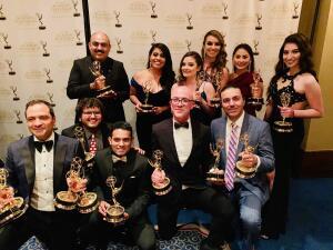 Univisión Arizona recibe 23 premios Emmy en nueve distintas categorías periodísticas