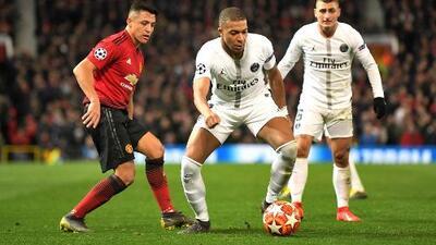 """Mbappé le 'aclaró' al Manchester United tras el 0-2: """"Estamos en la Champions, no se puede perdonar"""""""