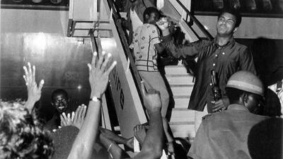 """""""Bienvenidos al aeropuerto Muhammad Ali"""""""