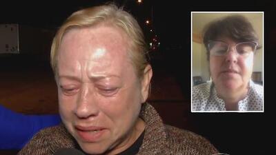 Inmigrante desamparada rompe en llanto al saber que una mujer conoció su historia y quiere ayudarla