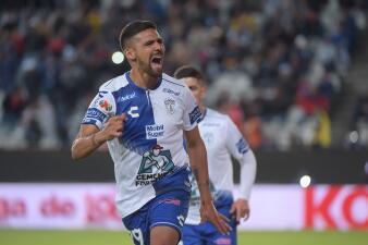 La radiografía del gol: Franco Jara, máximo goleador en la historia de Pachuca