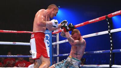 Liam Smith retuvo cinturón superwelter OMB