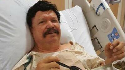 Roberto Pulido se recupera tras cirugía de espalda