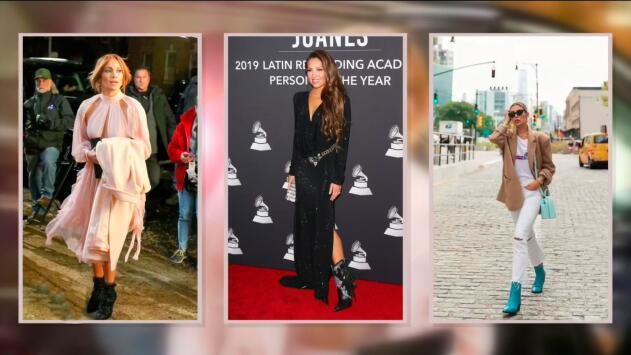 JLo, Thalía y Michelle Salas usaron botines y según Jomari Goyso solo a una de ellas le funcionó el look