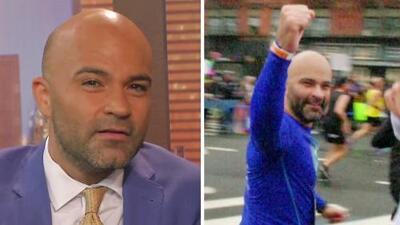 El cáncer testicular no fue excusa para Luis Gómez, y así corrió el Maratón de Nueva York