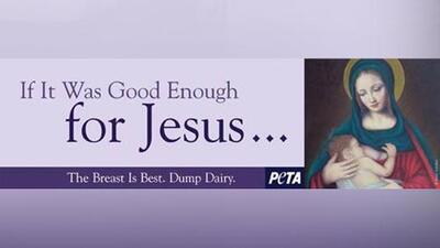 Apoyan a mujer expulsada de parque acuático con imagen de María amamantando a Jesús