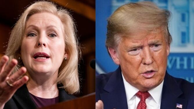 """""""Ha sido un completo fracaso"""": senadora Kirsten Gillibrand critica a Trump por su reacción frente al coronavirus"""