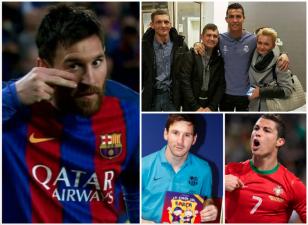 No fue solo en México: CR7 y Messi, dos cracks que siempre se preocuparon por ayudar a los necesitados