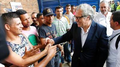 El jefe de la OEA no descarta una intervención militar para resolver la crisis humanitaria en Venezuela