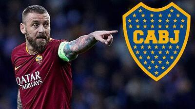 Boca comienza a 'moverse' para fichar al italiano Daniele de Rossi