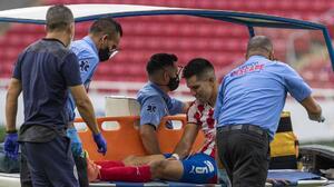 Jesús Molina sufre esguince en el ligamento de la rodilla izquierda