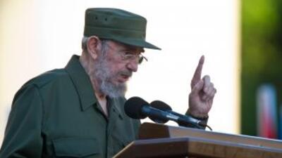 Fidel Castro  dijo que EU quiere el petróleo de Venezuela