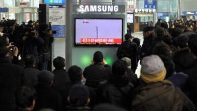 Corea del Sur lanza con éxito su cohete espacial Naro