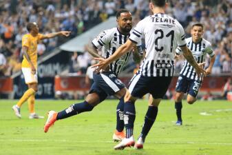 En fotos: Solitario y tempranero gol de Rayados basta para vencer a Tigres