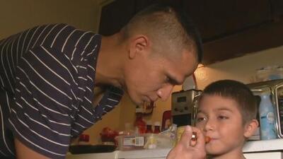 La conmovedora súplica de un padre mexicano, cuyo hijo padece leucemia, para no ser deportado