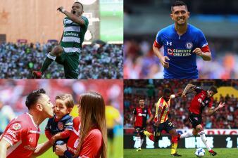 En fotos: Cruz Azul, Santos, Toluca y Morelia conforman el once ideal de la jornada 5
